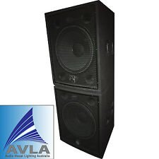 """Wharfedale Pro LX18B 18"""" Passive Subwoofer Pair (2) Demo"""