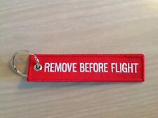 Remove Before Flight Air Canada Key Chain / Crew Baggage Tag