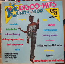 INTERNATIONAL DISCO BAND 16 DISCO-HITS NON STOP VOL.10 AFRO COVER FRENCH LP