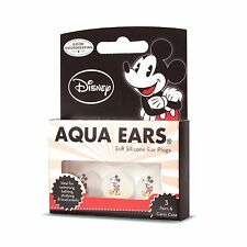 Mickey Mouse soft silicone swimming earplugs for kids- 3 Pair