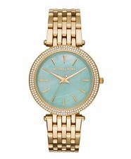 Michael Kors MK3498 Darci Green Mother Of Pearl Watch
