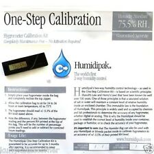 NEW CALIBER IV DIGITAL HYGROMETER  AND BONUS ONE STEP CALIBRATION KIT
