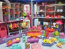 Littlest Pet Shop Lot Shopping MALL Food Accessories 15 RANDOM Pieces EXCLUSIVE!