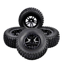 CA 12mm Hex 1/10 Scale RC Short Course Truck Off Road  Tire & Wheel 4PC 29001
