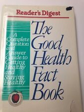 The Good Health Fact Book by Reader's Digest 1992 Hardcover Fast Shipping