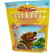 Zuke's, Mini Naturals, Healthy Moist Miniature Dog Treats, Salmon recipe 0317
