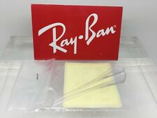 Authentic RayBan RB 3025 AVAITOR Replacement Clear Temple (Arm) Tips ray-Ban new