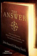 THE ANSWER Grow Any Business JOHN ASSARAF MURRAY SMITH Hardcover Book