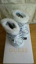 "Neuf, guess ""Arrano 'bottes blanches-royaume-uni taille: 1.5 infant. rrp £ 63.99"