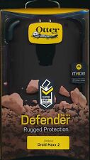 OtterBox DEFENDER BLACK DROID MAXX 2 NEW phone Case~Reg $50