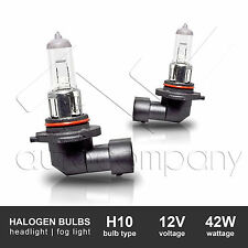 2x H10 12V42W Standard Stock Fog Light Replacement Halogen Bulb DOT Approved