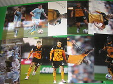 Hull City AFC 23 x Signed 2012/13 Promotion Season 12x8 Player Photographs