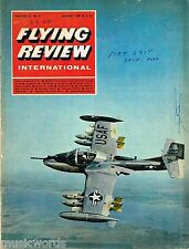 FLYING REVIEW INT AUG 68: FIAT G91/ JUMBO JETS/ JUMBO JETS/ WWII PHOTO INTEL