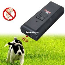 Digital Ultrasonic Pet Dog Repeller Train Stop Barking Repellent Trainer ESY1