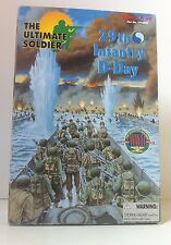 "ULTIMATE SOLDIER WWII 29TH INFANTRY D-DAY 12"" ACTION FIGURE 1:6 SCALE"