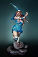 Albino Raven Miniatures 75mm Dangerous Samurai Girl