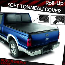 """Premium Lock Roll Up Soft Tonneau Cover For 2009-2014 FORD F-150 8' FT 96"""" BED"""