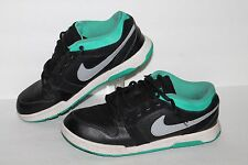 NIke Mogan 3 SB Casual Sneakers, #487640-003, Blk/teal/Grey, Men's ~5 / 5 Youth