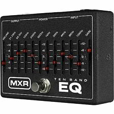 MXR M108 10-Band EQ Guitar Effects Pedal by Dunlop M-108 Graphic Equalizer - NEW