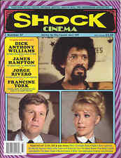 Shock Cinema #37 Steve Puchalski Dick Anthony Williams James Hampton Grindhouse