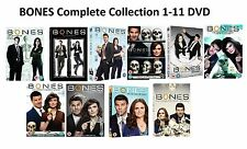 BONES Complete Series 1-11 DVD All Season 1 2 3 4 5 6 7 8 9 10 11 Collection UK