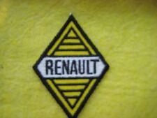"""Vintage Renault  Dealer Service Racing Uniform  Patch 2 1/8"""" X 2 7/8"""""""