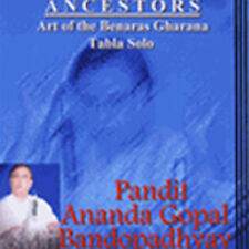 Tabla Solo Indian Music CD by Pandit Ananda Gopal Bandopadhaya / Tabla