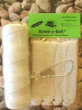 Catfish, CHUM net ~ 6 Piece with Line~ BOMB-A-BAIT™