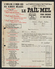 """TOURY (28) USINE SUCRERIE / ALIMENTS pour CHEVAUX & BETAIL """"PAIL ' MEL"""" en 1948"""