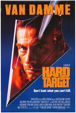 HARD TARGET MOVIE POSTER Original SS 27x40 JEAN CLAUDE VAN DAMME