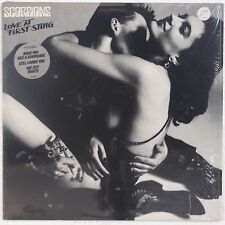 THE SCORPIONS: Love at First Sting USA ORIG Shrink w/ Hype Sticker LP NM-