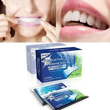 +14 x 3D PROFESSIONAL TEETH WHITENING POUCHES +2 WEEK COURSE 28 STRIPS+