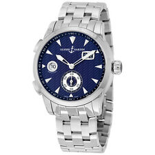 Ulysse Nardin Dual Time Blue Dial Automatic Mens Watch 3343-126LE-7/93
