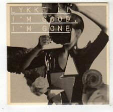 (FY59) Lykke Li, I'm Good I'm Gone - 2008 DJ CD