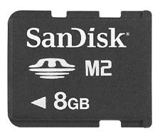 Nuevo Tarjeta de memoria 8GB Micro M2 para Sony Ericsson K800i
