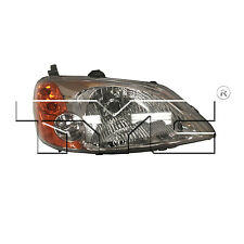 Eagle Eyes HD301-A001R Passenger Side Replacement Headlight, Honda Civic 01-03