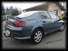 Peugeot 407 Saloon Sedan Rear Boot Lip Spoiler ~PRIMED & PREPARED~