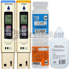 COM-80 + PH-80 + PH-STOR + PH-BUF + C342 COMBO - HM Digital PH/TDS/EC/PPM Meter