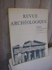 REVUE ARCHEOLOGIQUE 1979 n°2 Poseidonia Tibère, Drusus et le forum d'Avignon ...