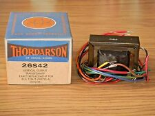 Thordarson 26S42 Color TV Vertical Output Transformer Replaces RCA119615 NOS