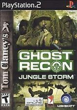 PlayStation2 Tom Clancys Ghost Recon Jungle Storm VideoGames