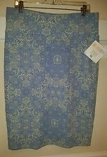 LuLaRoe XL Cassie Pencil Skirt, Vintage Antique Lace Design! BNWT!