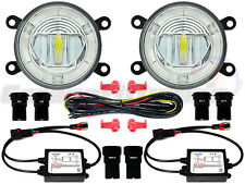 Nissan LED DRL Front Fog Light Kit Daytime Navara Pathfinder Note Micra Cabstar