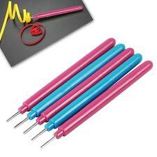 5 Pcs Random Slotted Paper Quilling Tools Pen Plastic DIY Paper Craft New