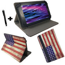 7 zoll Motiv Tablet Tasche Hülle Case blackberry playbook - USA Flagge 7