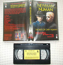 RARE Pre-Cert VHS - NEWMAN NUMAN-Best of Gary Numan- Palace Video