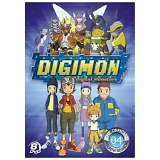 NEW Digimon: Digital Monsters - The Official Fourth Season (DVD 2013 8-Disc Set)