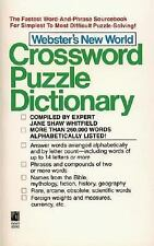 Webster'S New World Crossword Puzzle Dictionary: Third Edition by Whitfield, Ja