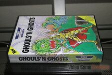 Ghouls'N Ghosts (Sega Master System, 1990) FACTORY SEALED! - ULTRA RARE!