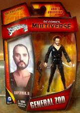 """General Zod Action Figure Superman II DC Multiverse 4"""" MOC Adult Collector"""